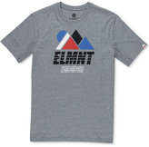 Element Men's Angles Graphic-Print Cotton T-Shirt
