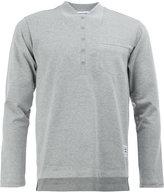Thom Browne fake collar polo shirt - men - Cotton/Cupro - 3