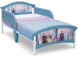 Disney Frozen II Plastic Toddler Bed by Delta Children