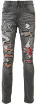 Haculla - distressed slim-fit jeans - men - Cotton/Spandex/Elastane - 32