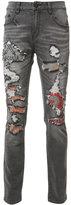 Haculla distressed slim-fit jeans