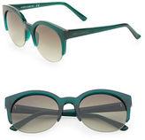 Vince Camuto 50mm Round Plastic Sunglasses