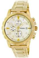 Fossil Men's FS4867 Dean Stainless Steel Watch, 45mm