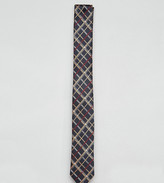 Reclaimed Vintage Inspired Skinny Tie In Check