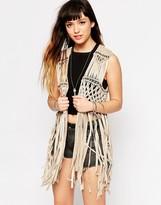 Glamorous Fringe Vest