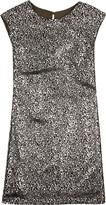 12th Street by Cynthia Vincent Aluminium shift dress