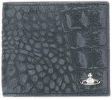 Vivienne Westwood crocodile effect billfold wallet