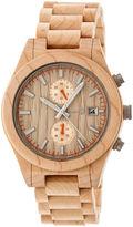 Earth Wood Castillo Unisex Brown Bracelet Watch-Ethew5101