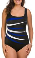 Longitude Colorblock One-Piece
