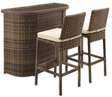 Crosley Bradenton Outdoor Bar Set (3 PC)