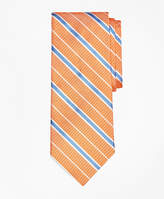 Brooks Brothers Textured Ground BB#2 Stripe with Pinstripe Tie