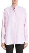 Victoria Beckham Women's Cotton Grandad Shirt