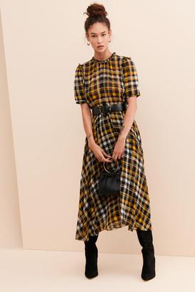 Just Female London Plaid Dress