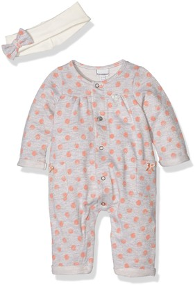 3 Pommes Baby Girls 0-24m Sweet Coral Romper