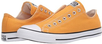 Converse Chuck Taylor All Star Seasonal Slip-On (Sunflower Gold) Athletic Shoes