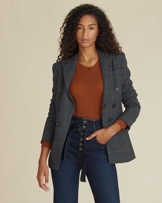 Veronica Beard Yareli Plaid Dickey Jacket