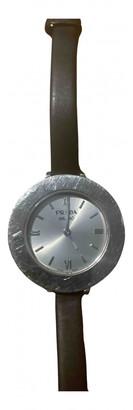 Prada Silver Steel Watches