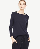 Ann Taylor Envelope Boatneck Top