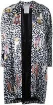 Theatre Products multiple prints flared coat