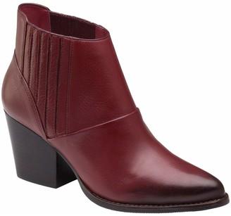 Johnston & Murphy Leather Booties - Charli