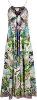 Camilla Moon Garden Long Tie Front Dress