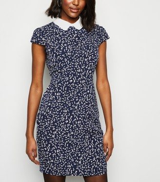 New Look Abstract Print Tulip Dress