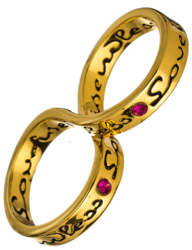 Erica Anenberg Love Is Endless Twosome Ring