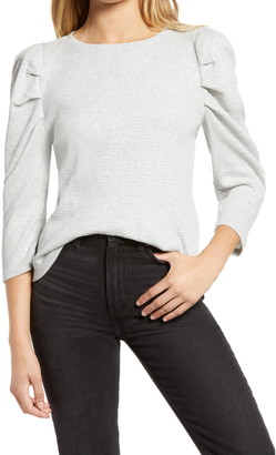 Treasure & Bond Puff Sleeve Thermal Top