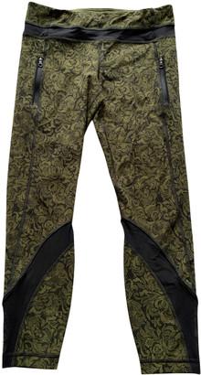 Lululemon Green Spandex Trousers