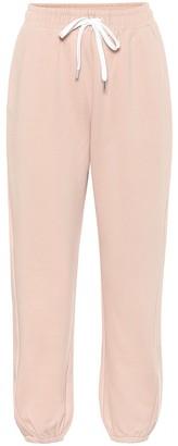 Max Mara Leisure Lembi cotton-blend trackpants