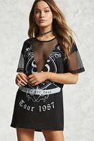 Forever 21 Tour 1987 Mini T-Shirt Dress