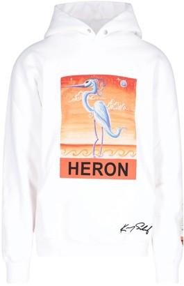 Heron Preston Graphic Print Hoodie