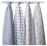 Aden Anais aden + anais Classic Muslin Swaddle Blanket 4 Pack, Prince Charming