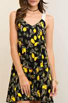 Entro Print V Neck Sundress