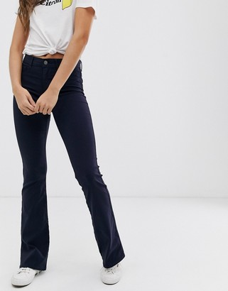 Pieces flared jeans-Navy