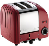 Dualit Classic Heritage Toaster - Theatre Red - 2 Slot