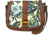 Liz Claiborne Jennifer Flap Saddle Crossbody Bag