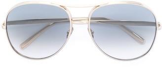 Chloé Eyewear Nola aviator-frame sunglasses