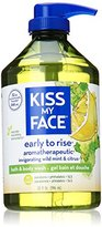 Kiss My Face Natural Shower Gel and Body Wash, Early-to-Rise, 32 Ounce