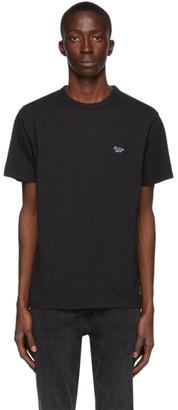 MAISON KITSUNÉ Black Classic Fox T-Shirt