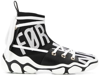 RED Valentino RED(V) Glam Run hi-top sneakers