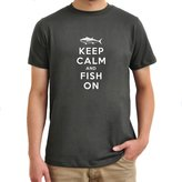 Eddany Keep Calm and Fish On T-Shirt
