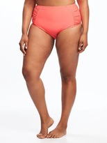 Old Navy Plus-Size Ruched-Bikini Bottoms