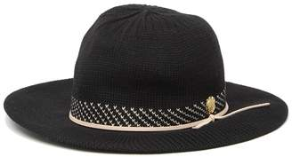 Vince Camuto V Pattern Packable Panama Hat