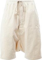Rick Owens drop-crotch drawstring shorts - men - Cotton - S
