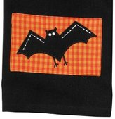 Appliqued Halloween Spooky Bat Kitchen Pantry Dish Towel by Split P