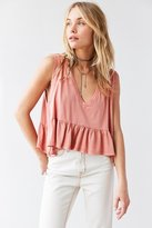 Truly Madly Deeply Josephine Babydoll Tank Top