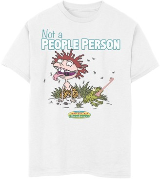 Nickelodeon Boys 8-20 The Wild Thornberrys Donnie Not A People Person Portrait Graphic Tee