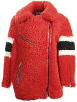 MSGM Lamb's Fur Jacket