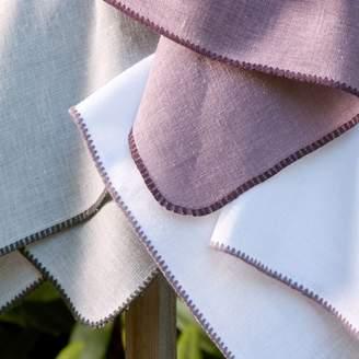 """Matouk Calypso Tablecloth, 70"""" x 126"""""""